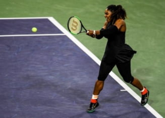 Reactia Serenei Williams dupa eliminarea de la Indian Wells