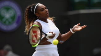 Reactia Serenei Williams dupa meciul dintre Simona Halep si Cori Gauff de la Wimbledon
