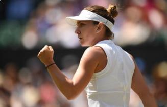Reactia Simonei Halep dupa calificarea in finala de la Wimbledon