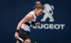 Reactia Simonei Halep dupa calificarea in optimile de finala de la Miami