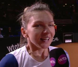 Reactia Simonei Halep dupa calificarea in semifinale la Stuttgart