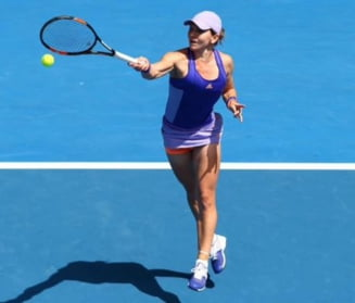 Reactia Simonei Halep dupa calificarea in sferturi la Australian Open