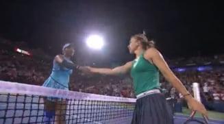 Reactia Simonei Halep dupa calificarea in sferturile de finala de la Rogers Cup