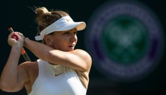 Reactia Simonei Halep dupa ce a pierdut sprijinul fanilor la Wimbledon