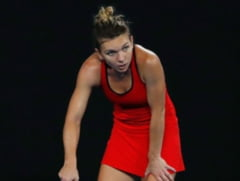Reactia Simonei Halep dupa finala pierduta la Australian Open in fata Carolinei Wozniacki (Video)