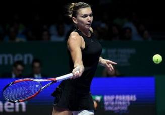 Reactia Simonei Halep dupa finala pierduta la Turneul Campioanelor in fata Serenei Williams