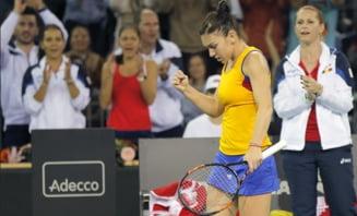 Reactia Simonei Halep dupa infrangerea cu Pliskova din Fed Cup
