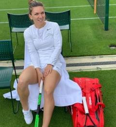 """Reactia Simonei Halep dupa victoria cu Buzarnescu de la Wimbledon: """"Emotional a fost mai greu"""""""