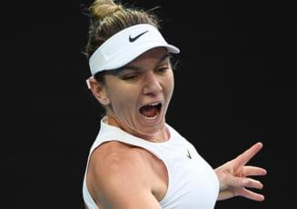 Reactia Simonei Halep dupa victoria de la Australian Open