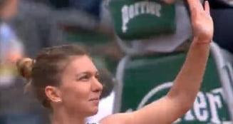 Reactia Simonei Halep dupa victoria de la Roland Garros