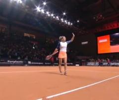 Reactia Simonei Halep dupa victoria de la Stuttgart