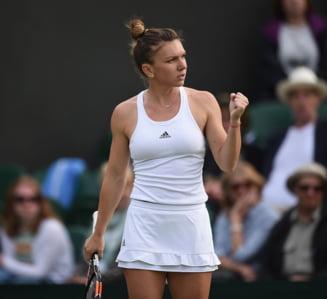 Reactia Simonei Halep dupa victoria de la Wimbledon