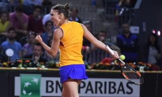 Reactia Simonei Halep dupa victoria superba din Fed Cup - ce spune despre accidentare si Angelique Kerber