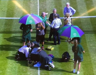 Reactia Soranei Cirstea dupa accidentarea groaznica de joi seara: Ce le reproseaza organizatorilor de la Wimbledon