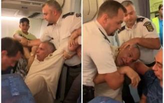 """Reactia Tarom dupa un scandal la bordul unei curse spre Cairo. """"Fiul mi-a cerut sa nu mai zburam prin Romania"""" VIDEO"""
