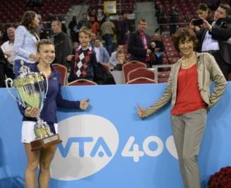Reactia Virginiei Ruzici dupa caderea Simonei Halep in clasamentul WTA