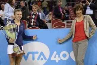 "Reactia Virginiei Ruzici dupa performanta superba a Simonei Halep: ""Va castiga si turnee de Grand Slam"""