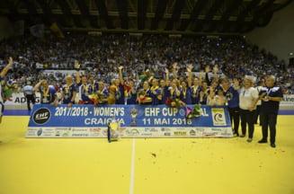 Reactia antrenorului care a adus pentru Craiova prima cupa europeana in handbalul feminin