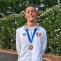 Reactia de milioane a lui David Popovici la intoarcerea in tara dupa recordurile de la Campionatul European de natatie: Sunt doar un baiat care inoata repede