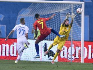 Reactia eroului celor de la FCSB din partida cu Universitatea Craiova, Juvhel Tsoumou