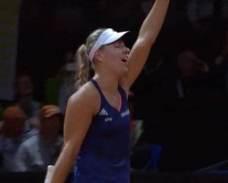 Reactia jucatoarei care a eliminat-o pe Sharapova de la Stuttgart
