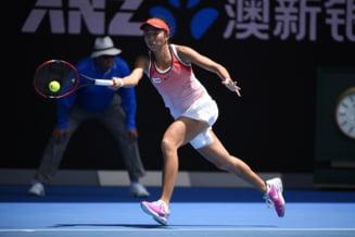 Reactia jucatoarei care a eliminat-o pe Simona Halep in optimi la Beijing