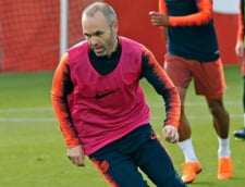 Reactia lui Andres Iniesta dupa ultimul derbi disputat in tricoul FC Barcelona