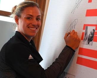Reactia lui Angelique Kerber dupa victoria in fata Simonei Halep de la Eastbourne