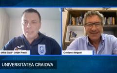 Reactia lui Cristiano Bergodi dupa ce-a devenit antrenorul principal al Universitatii Craiova