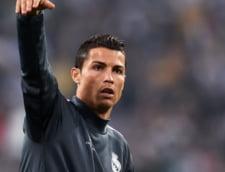 Reactia lui Cristiano Ronaldo dupa ce a dat trei goluri cu Sahtiorul lui Lucescu
