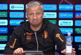 """Reactia lui Dan Petrescu dupa infrangerea CFR-ului din play-off-ul Champions League: """"Au dat gol ca la tenis de masa"""""""
