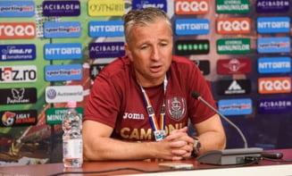 Reactia lui Dan Petrescu dupa prima infrangere suferita la CFR Cluj