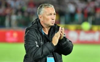 Reactia lui Dan Petrescu dupa victoria lui CFR Cluj din meciul cu Lazio Roma