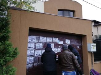 Reactia lui Florin Iordache, dupa ce pe portile casei si garajului i-au aparut mesaje obscene