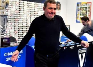 Reactia lui Gica Hagi dupa meciul modest in urma caruia CFR Cluj a castigat titlul in Liga 1