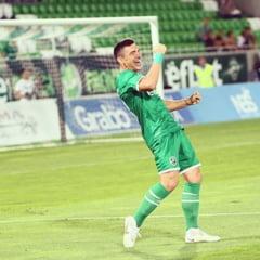 Reactia lui Keseru dupa golul superb din Europa League