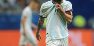 Reactia lui Leo Messi dupa esecul suferit de Argentina la debutul Copa America
