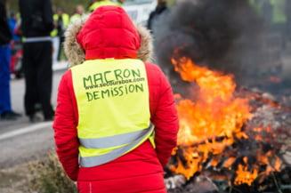 Reactia lui Macron dupa protestele de la Paris: Rusine! Nu e loc pentru astfel de violente in Franta
