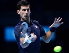 Reactia lui Novak Djokovici dupa esecul din finala Turneului Campionilor