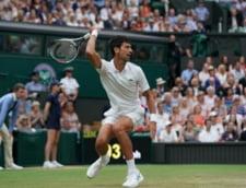 Reactia lui Novak Djokovici dupa victoria superba obtinuta in fata lui Rafa Nadal in semifinalele de la Wimbledon