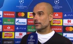 Reactia lui Pep Guardiola dupa infrangerea suferita de Manchester City in Liga Campionilor