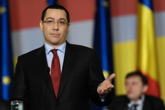 Reactia lui Ponta la declaratia lui Basescu: Mi-e indiferent ce a zis presedintele, sa fie sanatos!