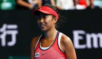 Reactia lui Shuai Zhang dupa eliminarea de la Australian Open: Chinezoaica a impresionat din nou