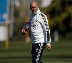 Reactia lui Zidane dupa un nou meci slab la Real Madrid