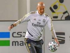 Reactia lui Zidane dupa victoria lui Real Madrid din derbiul cu FC Barcelona