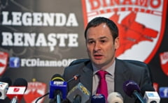 Reactia oficiala a clubului Dinamo dupa ce Politia a inceput anchetarea insolventei