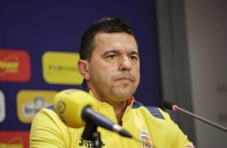 Reactia selectionerului Cosmin Contra dupa debutul ratat in Liga Natiunilor