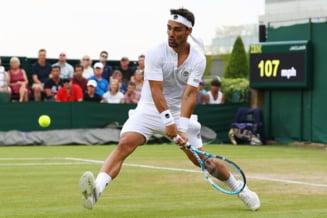 """Reactie uluitoare a lui Fabio Fognini, in timpul meciului pierdut la Wimbledon: """"Sper ca pe terenul asta sa explodeze o bomba"""""""