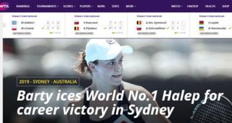 Reactii din presa internationala dupa infrangerea suferita de Simona Halep la Sydney