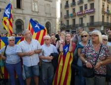 Reactii dure din Catalonia si proteste la Barcelona, dupa ce premierul Spaniei a anuntat ca preia controlul regiunii
